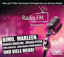 CD SchlagerRadio.FM Vol.1 von Powered By Rautemusik  2CDs