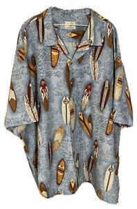 Mens Ho Aloha 5XL Hawaiian Shirt