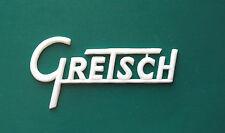 Gretsch White Amp Logo
