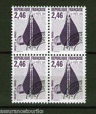 PRÉOBLITÉRÉS - 1990 YT 216 - bloc de 4 - TIMBRES NEUFS** LUXE