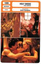 FICHE CINEMA : HOLY SMOKE - Winslet,Keitel,Campion 1999