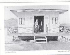 "+PC-Postcard-""Houseboat Stern""-1910- @ *Marin County, Ca.-/Sausalito (#108)"