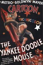 TOM & JERRY - The YANKEE DOODLE MOUSE PIN UP POSTER