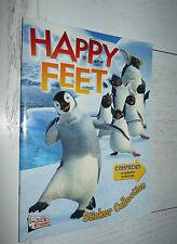 ALBUM MERLIN HAPPY FEET PANINI  2006 INCOMPLET DESSIN ANIME 179 STICKERS