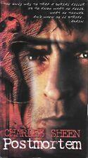 Postmortem (VHS) Charlie Sheen, Michael Halsey SERIAL KILLER Thriller!