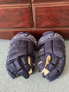 "bauer hockey pro stock return hockey gloves 13"" nexus N9000"