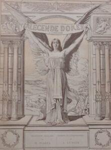La légende dorée, sur papier de Chine / Jacques de Voragine / Alexandre Lunois /