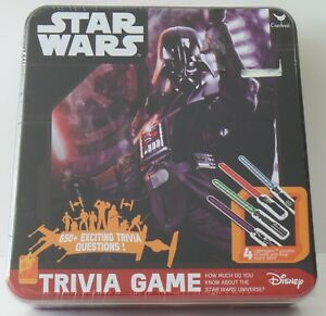 Cardinal Star Wars Trivia Game 650 Questions in Metallbox- NEU NEW eingeschweißt