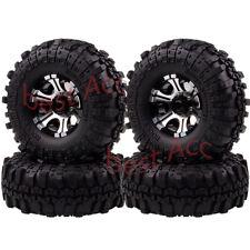 "4×1050-7035 1.9"" Alloy Rock Crawler Wheel Rim Lock Tyre For RC D90 SCX10 HSP HPI"