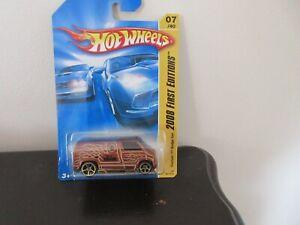 """Hot Wheels Dodge Custom Van 77' (C1) TAN """"HOT WHEELS"""" MOFC FTE Wheels 08'1stED"""