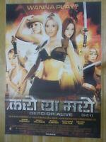 Doa Dead Or Alive 27x40 Original S S Movie Poster Ebay