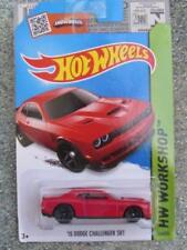 Voitures, camions et fourgons miniatures orange Challenger pour Dodge