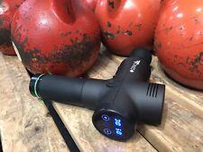 NEW TonedPlus Pro Black Percussion Body Massage Gun with case Like Hypervolt
