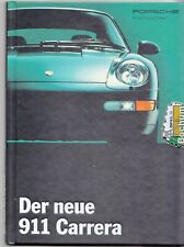 Porsche 911 Carrera   993 Prospekt Brochure 11 - 1993