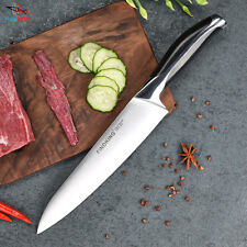 Top Grade Sharp Knife 440c Quality 8'' Inch Frozen Meat Cutter Chef kitchen Chop