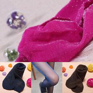 Fashion Women's Sexy Socks Glitter Tights Pantyhose Bling Long Stockings