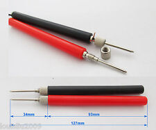 1pair DIY Multimeter Test Probe without Cable Assemble & No Solder Long Handle