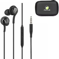 Authentic AKG Earphones Headphone Earbuds + Headset Case for LG & Samsung Phones
