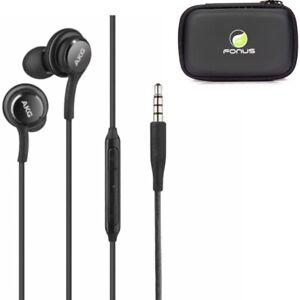 Authentic AKG Earphones Headphone Earbuds + Headset Case for LG & Samsung Phones