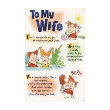 American Greetings Humorous Birthday Card: Wife...I'm Overcome With Love!