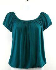 Anthropologie Porridge Women Shirt, Size Small, green, terylene, rayon