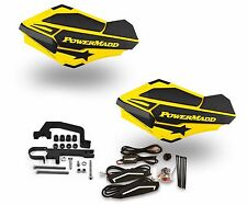 Powermadd Sentinel LED Handguards Yellow / Black Mount Ski Doo Hayes Snowmobile