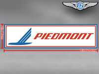 PIEDMONT AIRLINES LOGO RECTANGULAR DECAL / STICKER