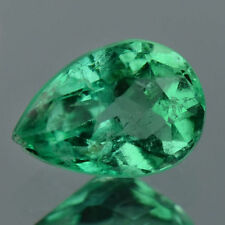 1.10 Ctw World Best Crystal Green Collection Natural Colombian Emerald