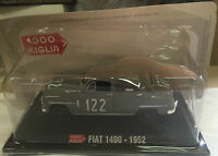 "DIE CAST 1000 MIGLIA "" FIAT 1400 - 1952 "" + BOX 2 SCALA 1/43"
