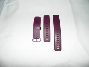 Genuine Fitbit Charge 4 Strap Both Sizes - Rose Wood - RF5356