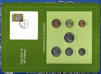 Coin Sets of All Nations Guernsey All 1985 Queen UNC £1, 1,2,5, 10, 20, 50 Pence