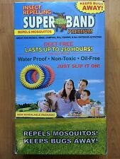 Insect 12 Mosquito Bug Repelling Wrist Band Superband Premium 4 Of Each Color