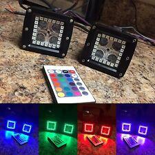 Led Pods Cubes With Multicolor Halos Prebuilt Rgb Led Light Bar