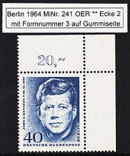 ❷❷ Berlin 241 FN 3 als FN Abklatsch auf Gummiseite so nicht oft zu finden RAR !