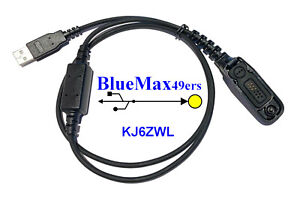 USB Programming Cable + Support Motorola APX3000 APX4000 APX5000 PMKN4012B