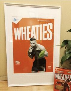 Limited Edition Mike Tyson Wheaties Print - Boxing