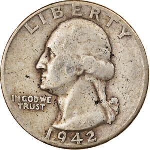[#832295] Coin, United States, Washington Quarter, Quarter, 1942, U.S. Mint