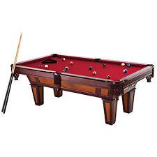 New Fat Cat 7 Foot Reno II Billiard Pool Table Burgundy Wool Cloth Balls Sticks