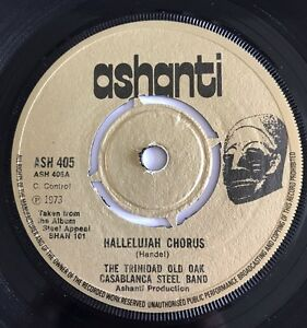 The Trinidad Old Oak Casablanca Steel Band   Ashanti 1973 Nice Copy !!
