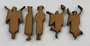 Card making GRADUATION FIGURES laser cut mdf hobby craft project 20 pack 30mm