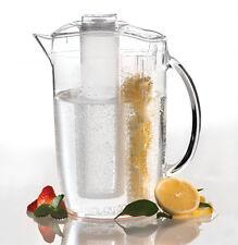 APS Saftkanne mit Eiswasser-Röhre und Fruchtkammer 2,2 Liter