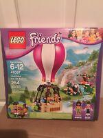 Lego Friends 41097 Heartlake Hot Air Balloon new great minifigures