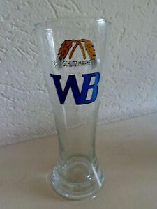 Weizenbierglas, Schutzmarke WB, emailliert, ungeeicht