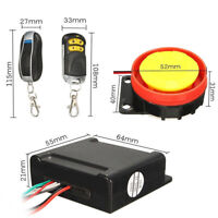 Security Anti-theft Motorcycle Motorbike Alarm System Immobiliser Remote Control