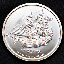 Cook Islands 1/10 Unze OZ  2012 Silber Münze Bounty  10 Cents Silver Coin