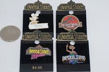 Collectible Pins - Lot of 4 UNIVERSAL STUDIOS Pins - Vintage circa 1997