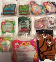 Vintage McDonald's Toys McDonalds Happy Meal Toy Lot of 20 NEW **SEALED**