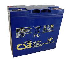 CSB EVH 12240 AGM GEL Akku 12V 24Ah wie PC680 Genesis 12EP16 51913
