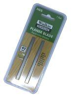 2 Reversible Planer blades 82mm x 5.5mm HSS Bosch Black and Decker DeWalt NEW