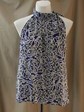 Worthington, X-Large, Verve Vivian, Blue Multi Sleeveless Top, New with Tags
